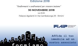 RIMINI | 30/11/18 | Osservatorio Immobiliare FIAIP ROMAGNA 2018 RA-RN-FC