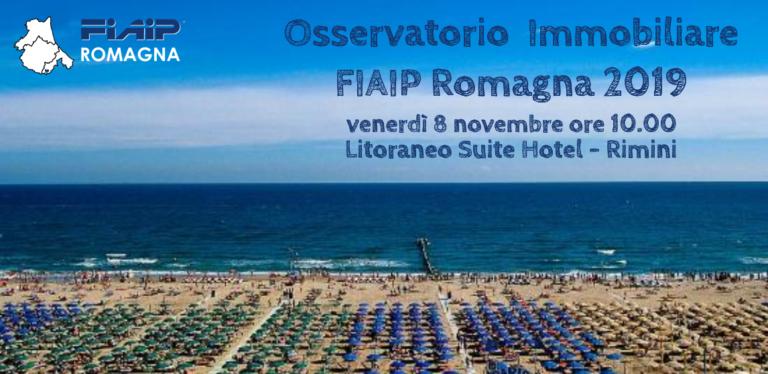 ROMAGNA | 8/11/2019 | Presentazione Osservatorio Immobiliare 2019