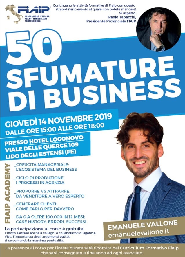 FERRARA – 14/11/2019 | 50 Sfumature di business