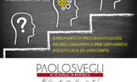ROMAGNA – 14-28/01/2020 | PNL per un'Agenzia più efficace ed efficiente