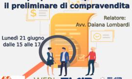 WEBinFIAIP Reggio Emilia – 21/06/2021 | Proposta di acquisto e Preliminare di compravendita