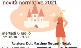 PIACENZA – 6/07/2021 | Agevolazioni prima casa e novità normative 2021